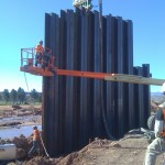 Sheet Pile Wall Dixie Drive