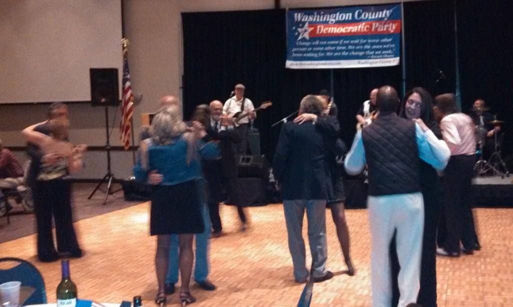 Johnny Van Band delivers live dance music at Washington County Inauguration Celebration Gala