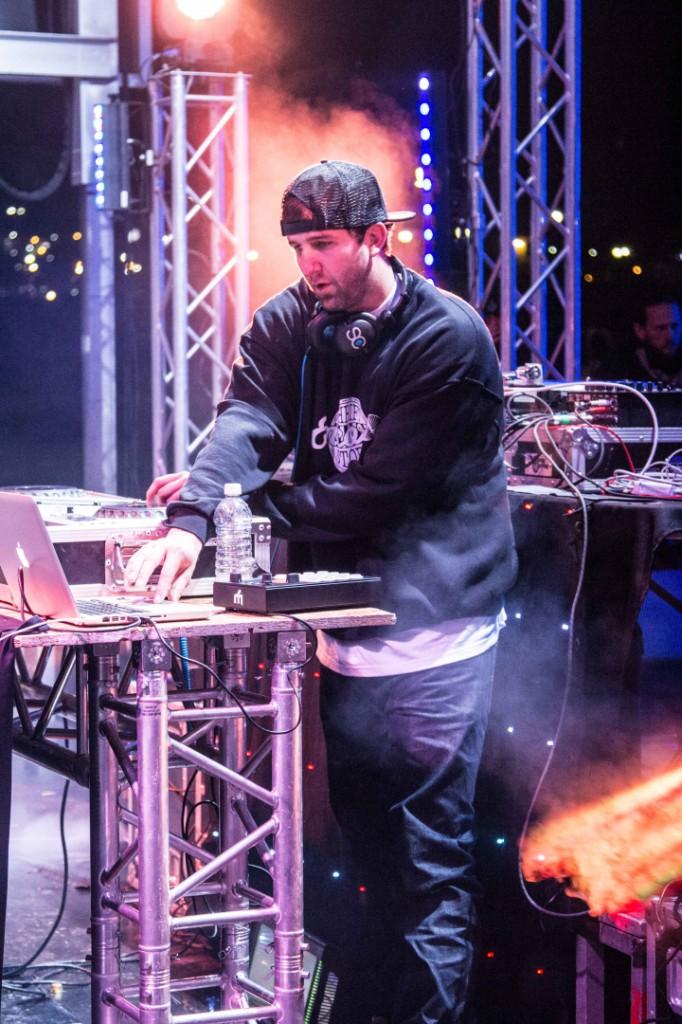 Utah DJ Marcus Wing at Macklemore and Ryan Lewis concert - STGnews.com photo