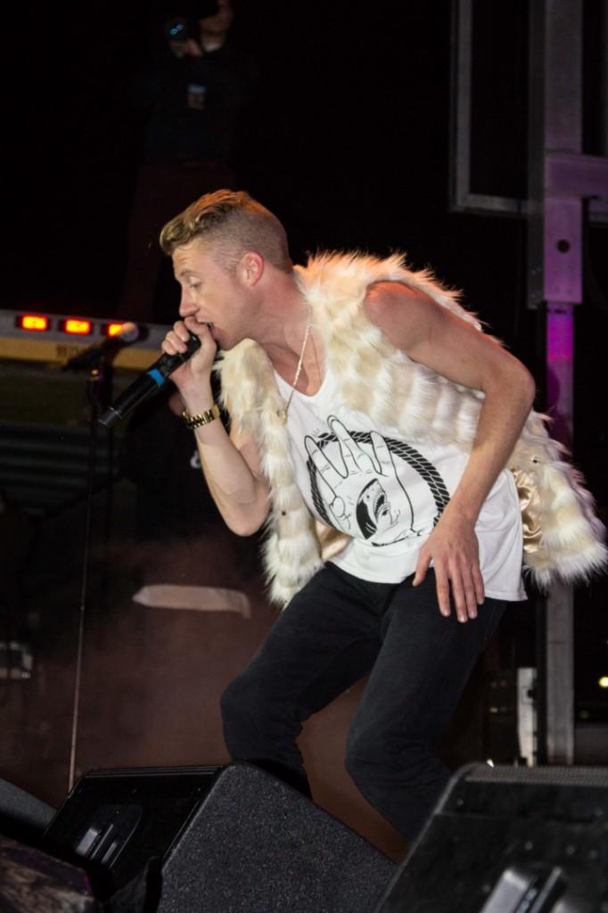 Hip-hop artist Macklemore at DSU - STGnews.com photo