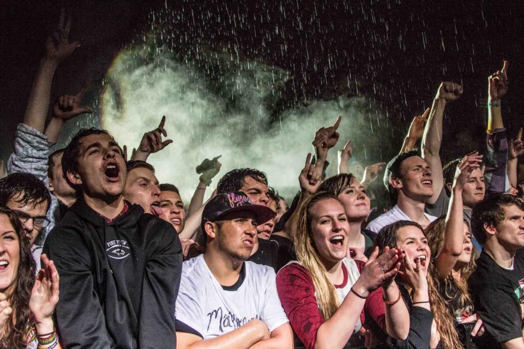 Let it rain crowds still came Macklemore at DSU - STGnews.com photo