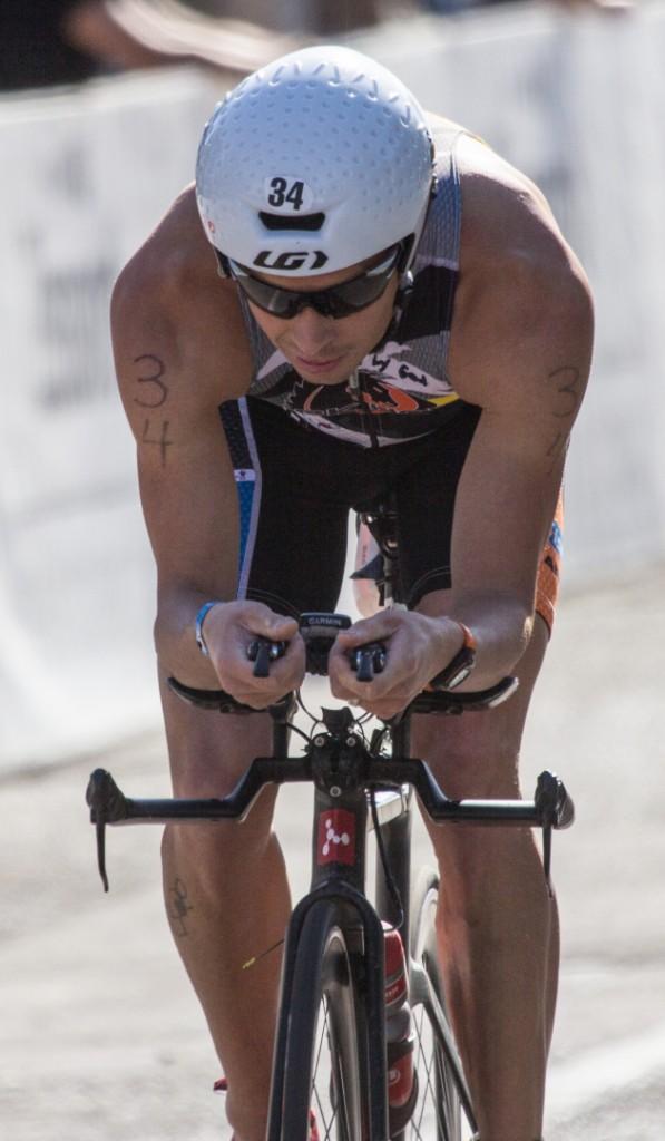 Kirk Nelson from Utah, mens pro Ironman 70.3 St. George STGnews.com