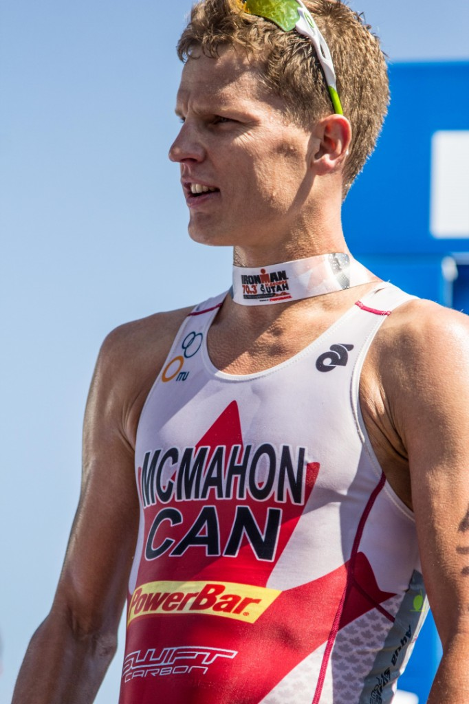 Brent McMahon finishes first pro Ironman 70.3 St. George STGnews.com