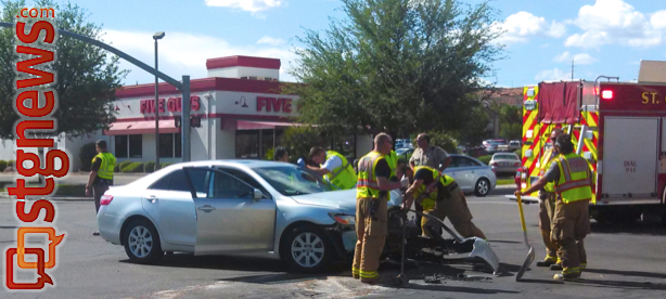 Chick Fil A Car Accident