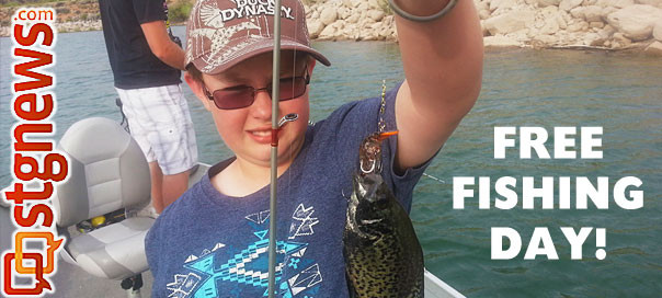 Utah waters warming up angling opportunities abound free for Free fishing day