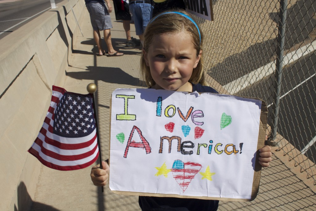 Overpasses for Obama's Impeachment St. George Utah