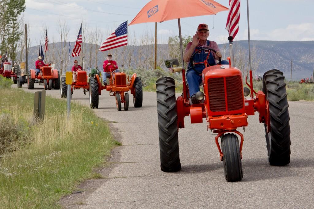 Tractor caravan Iron County Fair STGnews.com