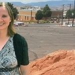 Ordain Women executive board member, Nancy Ross, outside her office, Dixie State University, St. George Utah, July 14, 2014 | Photo by Drew Allred, St. George News