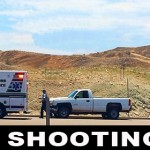 The victim of a shooting in Desert Springs, Arizona, was located by Utah Highway Patrol and transported to the hospital from Brigham Road, St. George, Utah, July 16, 2014 | Photo by Kimberly Scott, St. George News