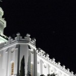 St. George Temple, St. George, Utah, December 2009 | Photo by Cami Cox Jim, St. George News