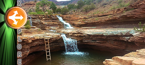 Explore A Swimming Hole For The Soul Toquerville Falls