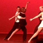 """Southern Utah University's Ballroom Dance Company performed at the """"Dancing With Your Community Stars,"""" fundraising event to benefit the Iron County Children's Justice Center, Cedar City, Utah, Sept. 20, 2014 