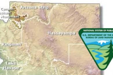 Map Of Arizona Strip.Blm Seeks Input On Uinkaret Mountains Landscape Restoration Project