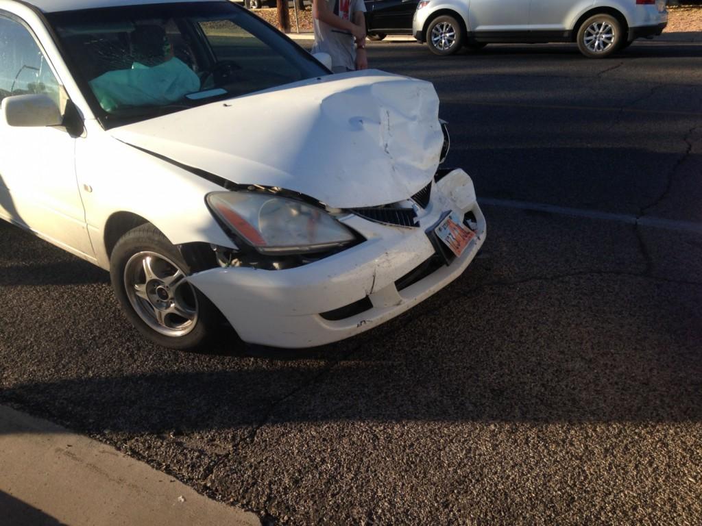 Utah Car Accident Near School