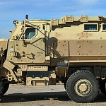 Mine resistant armored patrol vehicle acquired by the Mohave County Sheriff's Office, Mohave County, Arizona, date unspecified | Photo courtesy of the Mohave County Sheriff's Office, St. George News
