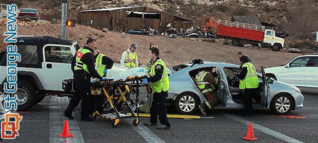 Utah Cedar City Car Crash January