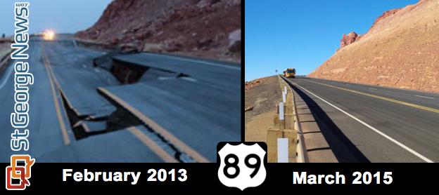 89 south of Page reopens after 2013 landslide | Cedar City News