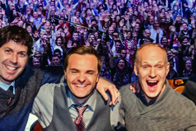 The Piano Guys | Image composite, St. George News