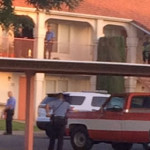 One man was arrested after shots were fired in an apartment. Mesa Villa apartment, St. George, Utah, April 24, 2015 | Photo by Ric Wayman, St. George News