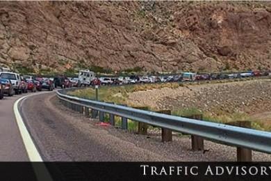 gorge traffic