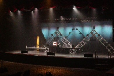 """The stage of the CasaBlanca Resort and Casino's Showroom is set to welcome Sonora Santanera and Sonora Tropicana to the """"Guerra de Sonoras."""" Mesquite, Nevada, May 19, 2015 