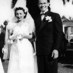 L-R Mary and Gene on their wedding day, Capitola, California, June 29, 1940 | Photo courtesy of Janet Carter, St. George News