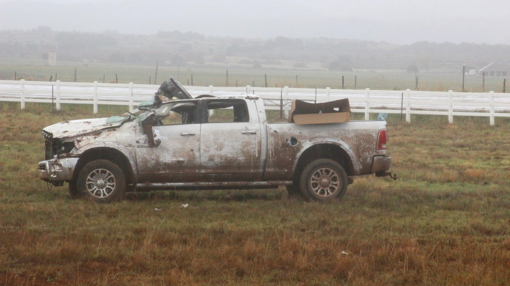 ivins man dead after his truck leaves highway  rolls in
