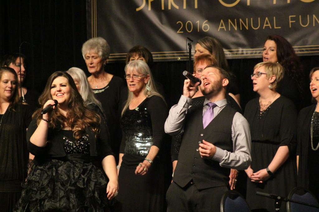 Brodie Perry with John Houston Gospel Choir StGeorgeNews.com