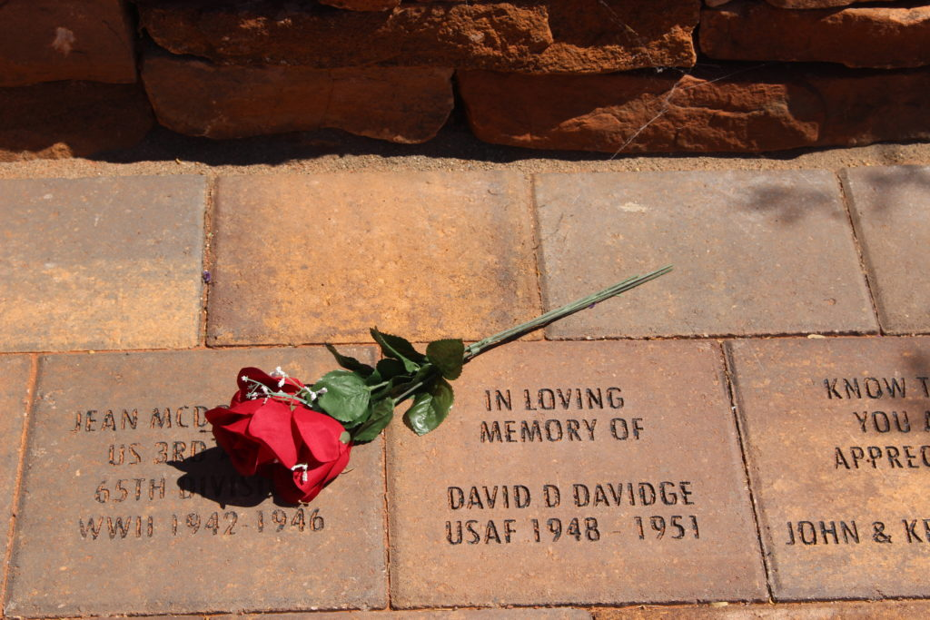 Memorial stone at Southern Utah Veterans Home - StGeorgeNews.com