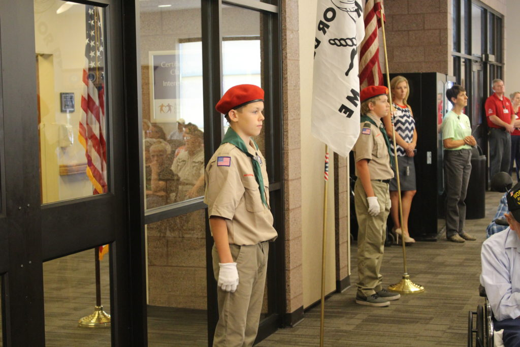 Boy Scout Patriot Day - Southern Utah Veterans Home - StGeorgeNews.com