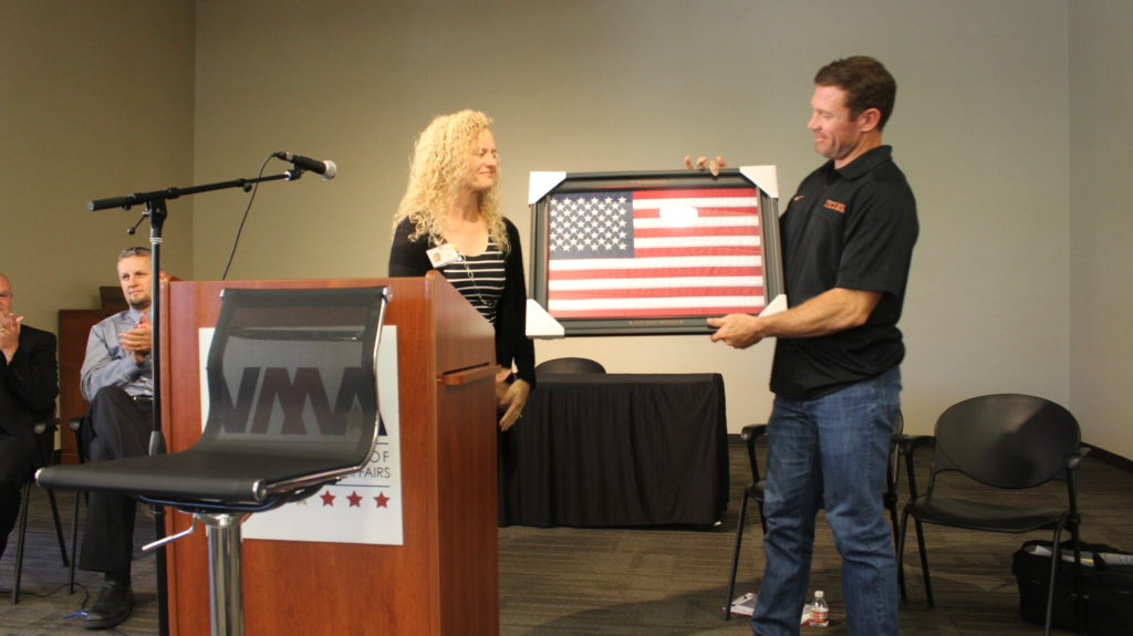Patriot Day with Nate Boyer - Southern Utah Veterans Home - StGeorgeNews.com