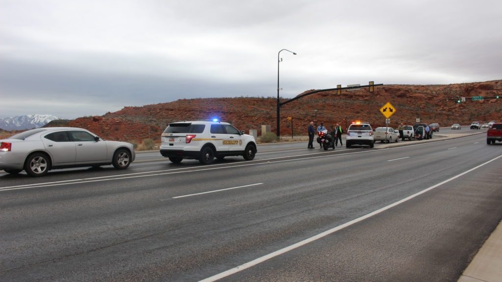 Distracted Driving Incident Leads To 3 Vehicle Crash