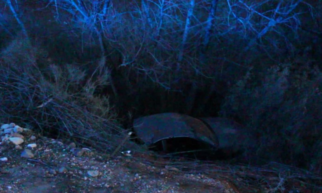 Driver Reportedly Falls Asleep On I 15 Rolls Car Off