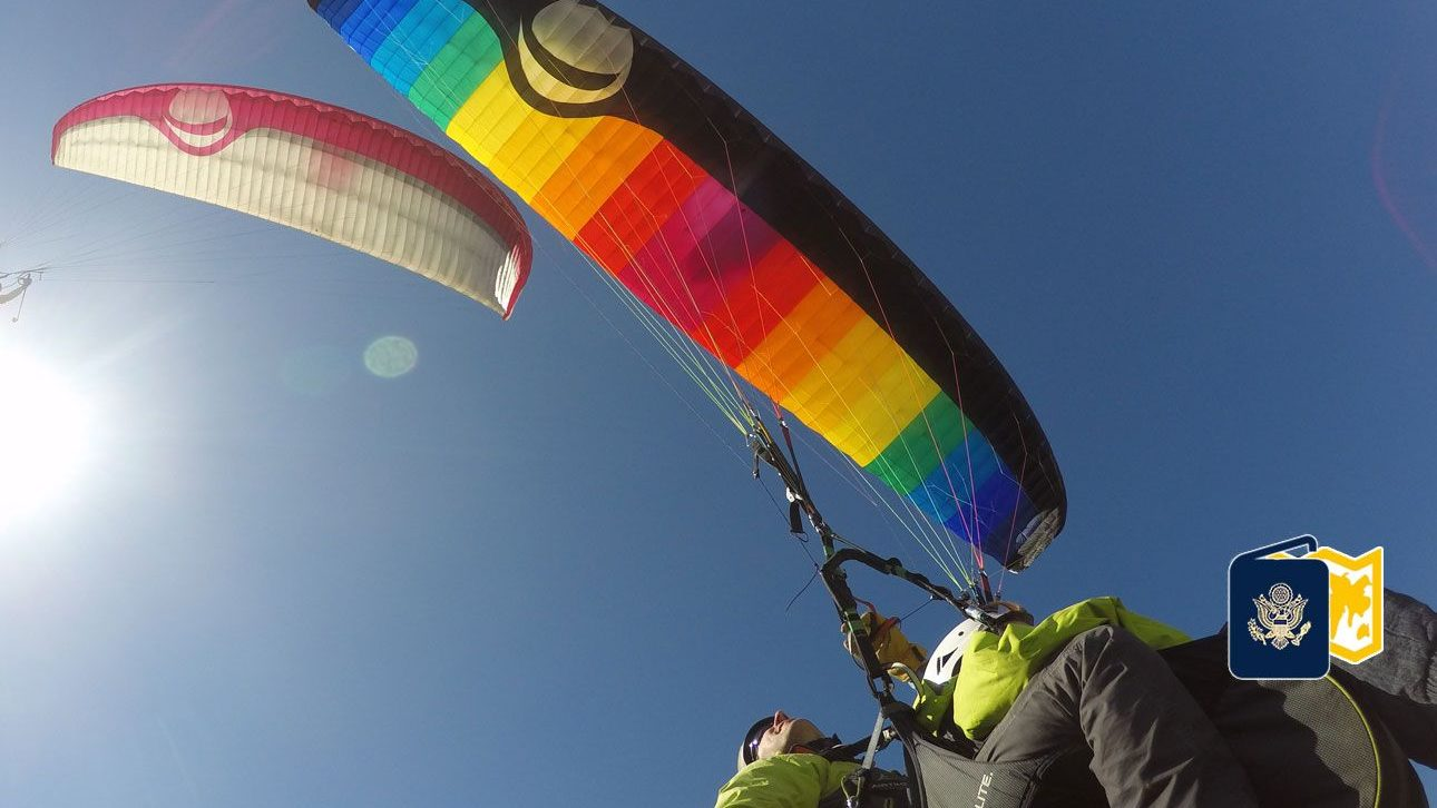 Here & there: Kings of paragliding – Cedar City News