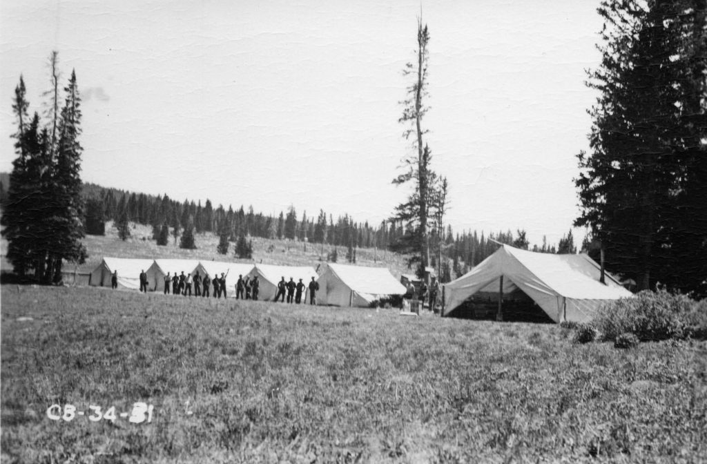 Civilian Conservation Corps - Cedar Breaks