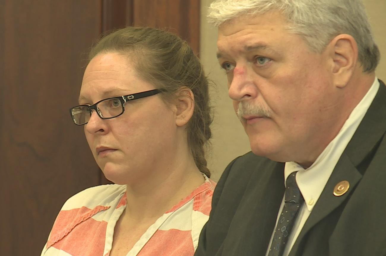 Utah woman who locked 12-year-old in bathroom pleads