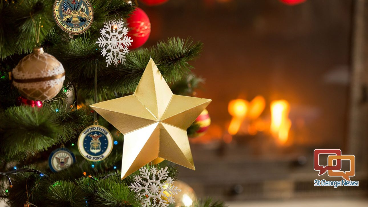 Christmas City Vet.Dixie Elks Military Tree Christmas Lunch Provide