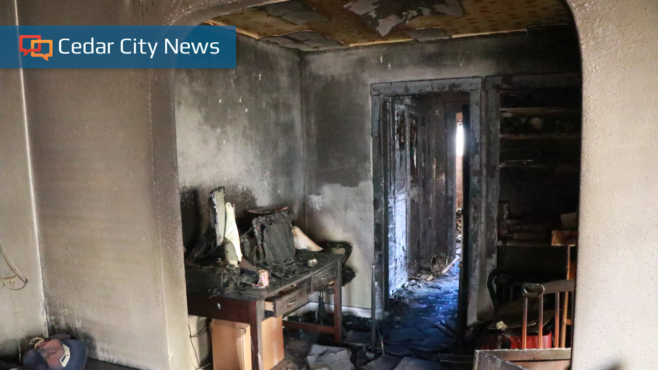 Early Morning Fire Damages Cedar City Home Displaces Residents