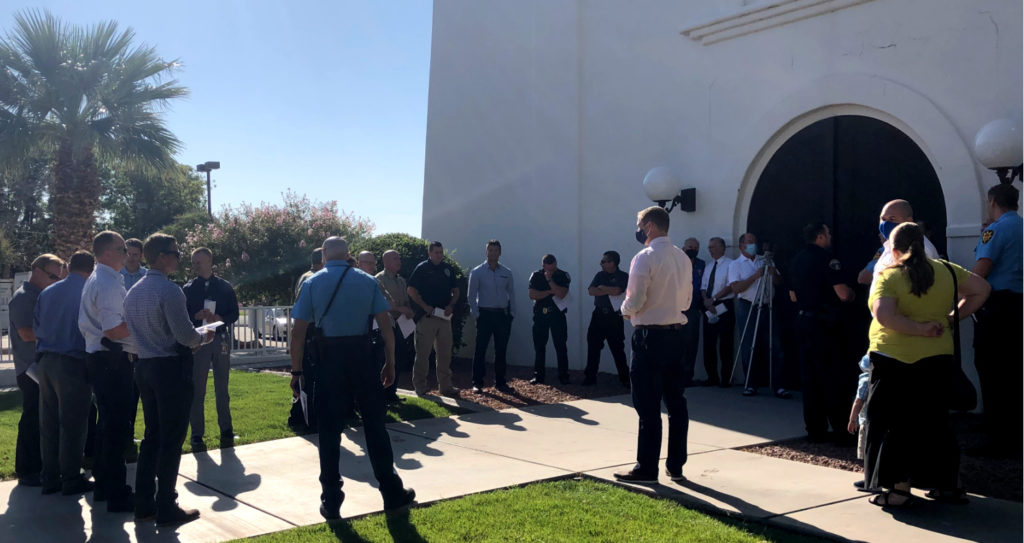 Catholic Church Holds Special Rosary Service To Pray For Police First Responders During Difficult Time Cedar City News